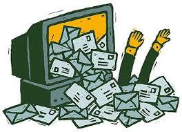 làm gì khi spam mail