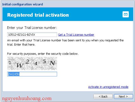 hướng dẫn cài đặt mail server