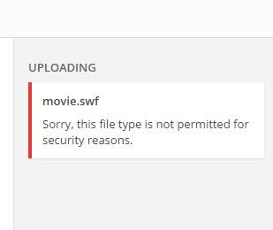 Hướng dẫn chèn file Flash lên wordpress