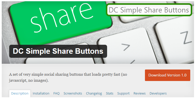 plugin share wordpress