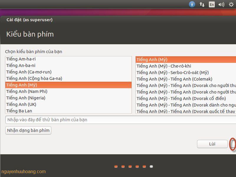 cài đặt ubuntu 16.04 bằng usb