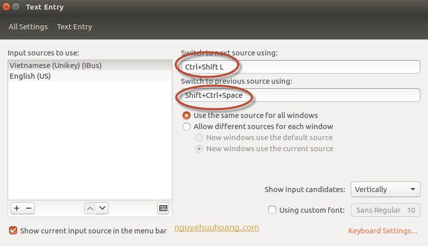 Hướng dẫn cài bộ gõ tiếng Việt trên Ubuntu 16 04 LTS - ibus