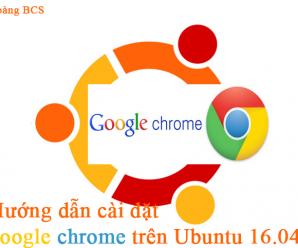 Cài đặt google chrome trên ubuntu