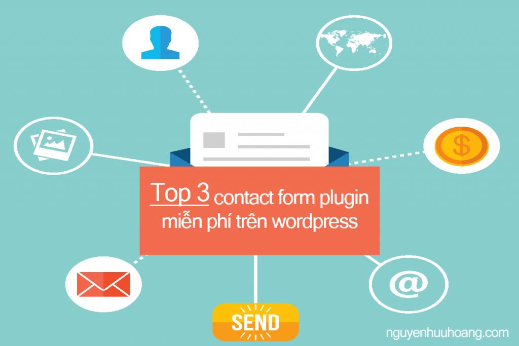 Top 3 Contact Form Plugins miễn phí tốt nhất trên wordpress