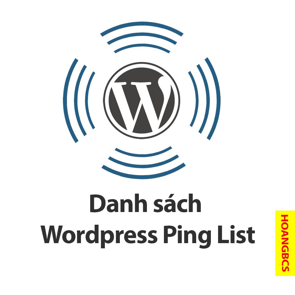 danh sach wordpress ping list - nguyenhuuhoang.com