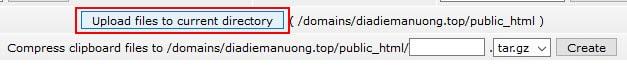 thuc hien upload tren hosting - nguyenhuuhoang.com